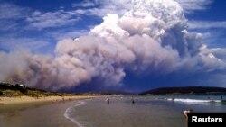 澳大利亚山火继续蔓延