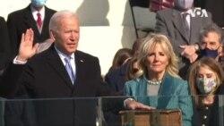 美國第46任總統喬·拜登的足跡