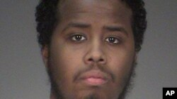 Mohamed Abdihamid Farah is shown in this undated file photo provided by the Washington County Sheriff's Office in Stillwater, Minnesota.