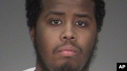 Mohamed Abdihamid Farah, one of several Minnesota men facing trial for allegedly plotting to join the Islamic State group, appears in an undated photo provided by the Washington County Sheriff's Office in Stillwater, Minn.