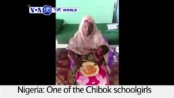 VOA60 World PM- Kidnapped Chibok Girl Found Alive
