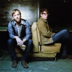 Dan Auerbach, left, and Patrick Carney are the Black Keys