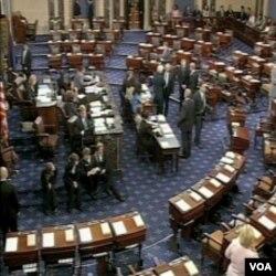 Senat tokom glasanja za reformu financijskog sistema u Sjedinjenim Državama
