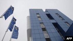 Штаб-квартира белорусского предприятия «Белнефтехим», в отношении которого введены санкции