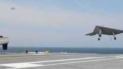 US Drone Successfully Lands on Aircraft Carrier
