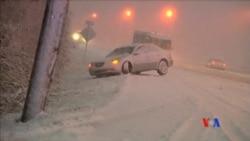 2016-01-23 美國之音視頻新聞: 特大暴風雪吹襲華盛頓