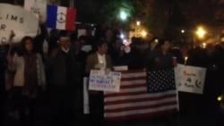 داعش کے خلاف اے پی این اے کا واشنگٹن میں مظاہرہ