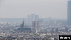 Une vue de Notre-Dame-de-Paris
