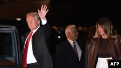 ABD Başkanı Donald Trump ve First Lady Melania Trump, Buenos Aires'te