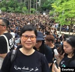 香港資深新聞工作者麥燕庭 (麥燕庭提供)