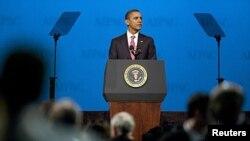 Shugaban Amurka Barack Obama a taron kungiyar kare muradun Isra'ila, lahadi 04/03/12