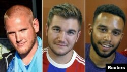 Les trois jeunes américains qui ont maitrisé le tireur du Thalys.