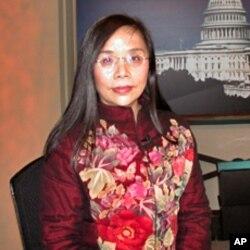 何清涟2006年参加美国之音电视节目