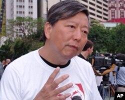 支联会主席李卓人,活动总指挥