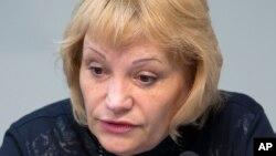 Исполнительный директор организации «Голос» Лилия Шибанова