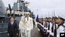 俄羅斯海陸空軍力的一部份