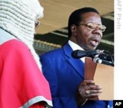 Malawian president Bingu wa Mutharika