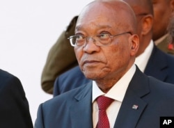 FILE - South African President Jacob Zuma.