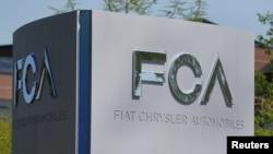 Kantor pusat perusahaan Fiat Chrysler di Auburn Hills, Michigan.