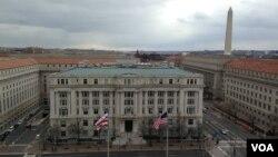 华盛顿特区的市政府和市议会大楼