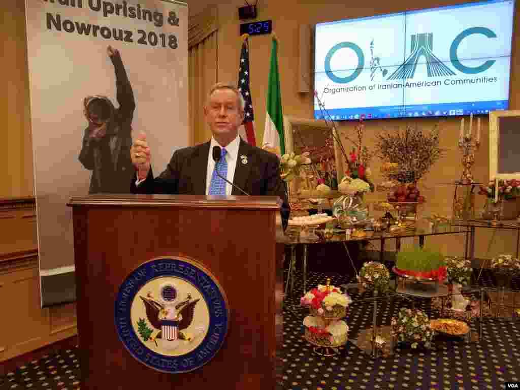 جشن نوروزی در کنگره ایالات متحده با حضور برخی از قانونگذاران به میزبانی سازمان جوامع ایرانیان آمریکا