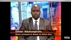 Olivier Nduhungirehe, 1er Conseiller de la Mission permanente du Rwanda à l'ONU