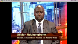 Olivier Nduhungirehe, Premier Conseiller à la Mission Permanente du Rwanda auprès de l'ONU à New York