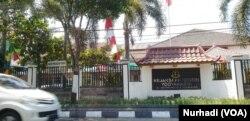 Kejaksaan Negeri Yogyakarta, kantor jaksa Eka Safitra yang menjadi tersangka. (Foto:VOA/Nurhadi)