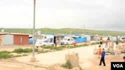 Trại tị nạn Domiz ở Duhok, Iraq