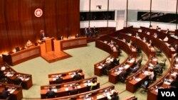 香港立法會保安事務委員會將會討論保安局建議修訂《逃犯條例》。(美國之音湯惠芸)