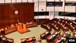 香港立法会保安事务委员会将会讨论保安局建议修订《逃犯条例》。(美国之音汤惠芸)
