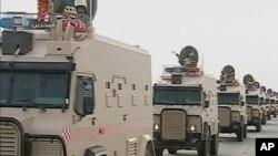 Pasukan Saudi Arabia dikerahkan menuju perbatasan dengan Irak (foto: dok).