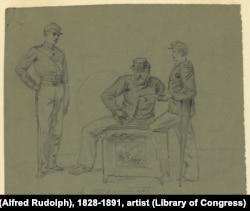 Civil War Veterans: A Street Contrast