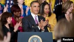 En el marco de la celebración del Día de la Madre, el presidente Obama, presentó la fase final de la Ley de Salud.