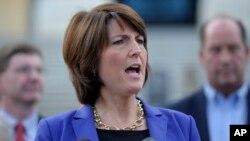 La republicana Cathy McMorris Rodgers creció en una familia agrícola y actualmente preside el consejo político republicano en la Cámara de Representantes.