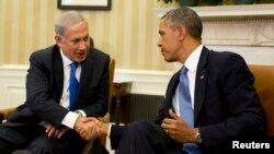 Tổng thống Obama và Thủ tướng Israel Benjamin Netanyahu hội đàm tại Tòa Bạch Ốc, 30/9/13