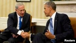 30일 네타냐후 이스라엘 총리가 오바마 미국 대통령과 백악관에서 회담을 가졌다.