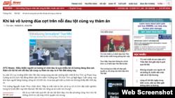 Công chúng bị truyền thông nhà nước Việt Nam cho là 'vô lương' vì đã 'hả hê' trước cái chết của các quan chức.