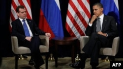 Зустріч Барака Обами з Дмитром Медведєвим у Гонолулу на Гавайських островах