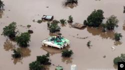 Situação no distrito de Buzi, na província de Sofala, em Moçambique.