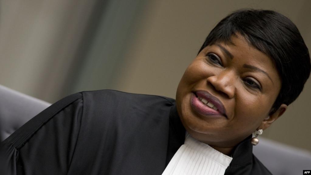 Fatou Bensouda, procureure de la CPI, La Haye, le avri 2018