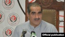 وفاقی وزیر برائے ریلوے خواجہ سعد رفیق
