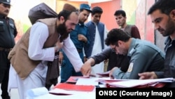Pemerintah Afghanistan membebaskan 80 tahanan Taliban, 14 Agustus 2020. (Foto: ONSC)