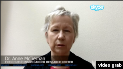 Dr.Anne McTienan, Fred Hutchinson Cancer Research Center.
