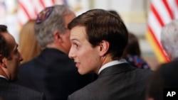 El funcionario dijo el domingo que Kushner viajó como invitado del general Joseph Dunford, Jefe del Estado mayor.