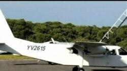2013-01-06 美國之音視頻新聞: 委內瑞拉一架小型飛機失蹤