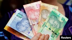 Notas de rand sul-africano