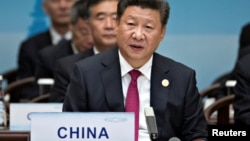 El presidente chino, Xi Jinping, fue el anfitrión de la cumbre del G-20, en Hangzhou, en el este de China.