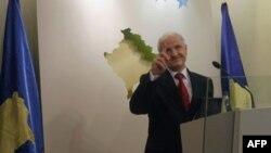 Predsednik Kosova saopštava odluku o ostavci na konferenciji za novinare