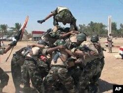 Sojojin Amurka su na horas da sojojin Iraqi a Bagadaza